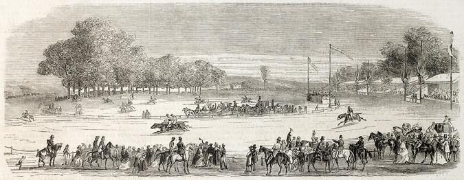 racing meeting 1800s