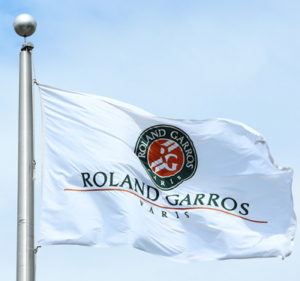 roland garros french open flag