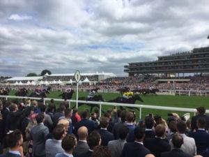 royal ascot horses sprint past final furlong marker