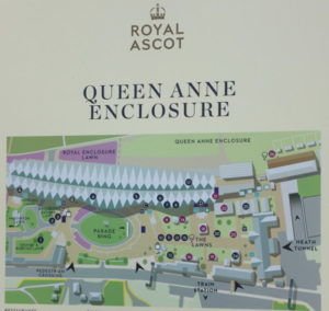 royal ascot queen anne enclosure sign