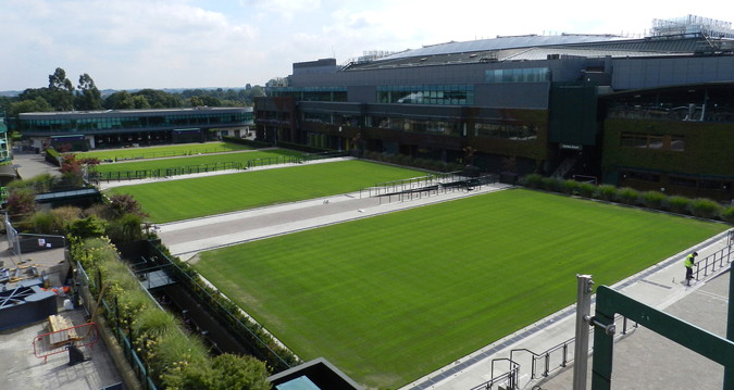 wimbledon outer grass courts