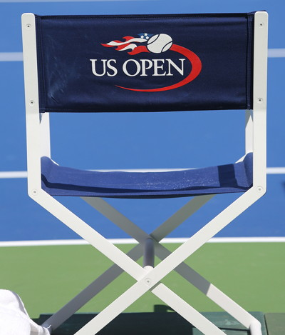 tennis us open deck chair