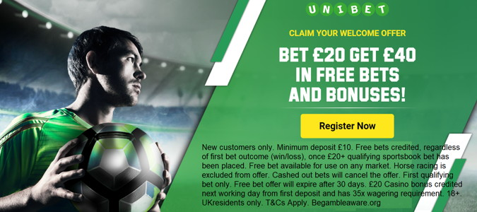 unibet uk welcome offer for sports