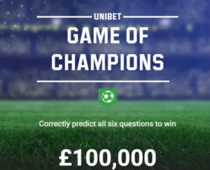unibet champions league game of champions