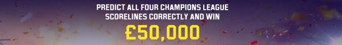 unibet champions league predictor free game