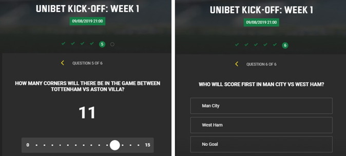 unibet kick off question example