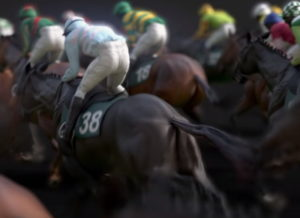 virtual grand national horses close up