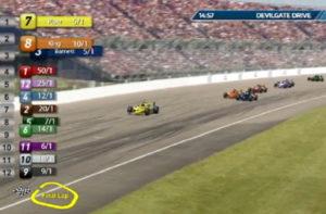 virtual motor race