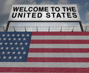 welcome to the united states sign