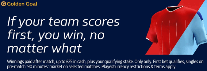 William Hill Golden Goal – Get Paid Out As A Winner When