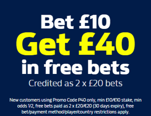 william hill mobile welcome offer p40