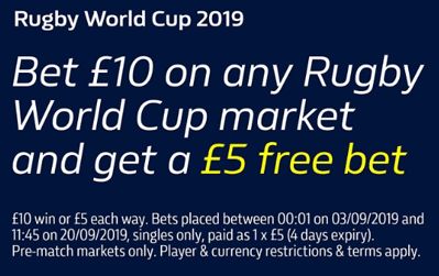 william hill rugby world cup offer