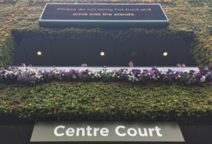 wimbledon centre court sign