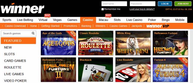 winner-casino-screenshot