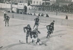 winter olympics 1932 hockey match