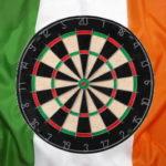 world grand prix darts board ireland flag